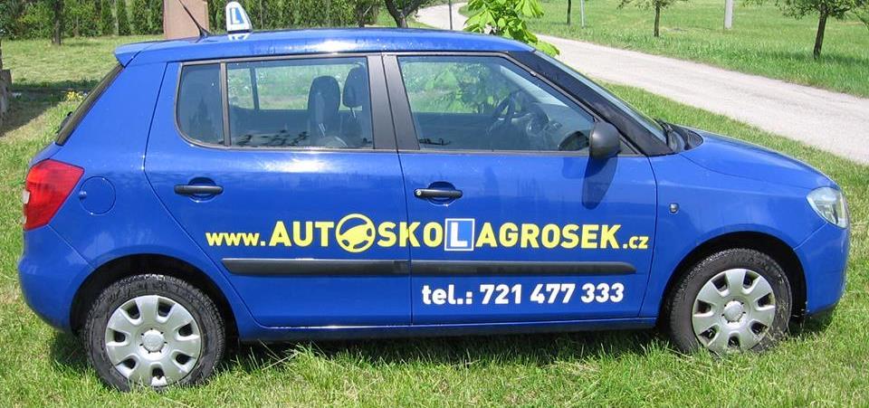 Vozy autoškoly Grošek Vyškov